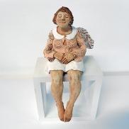 7323 - Anioł siedzący