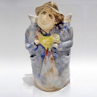 713 - Anioł ceramiczny
