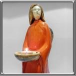 7149 - Anioł ze świecą