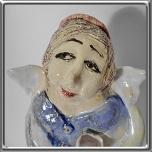 7151 - Anioł ceramiczny