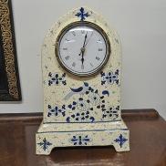 08 - Zegar z kobaltowym wzorem