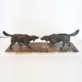 2313 - Psy - rzeźba