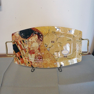 """04 - Taca szklana Klimt """"Pocałunek"""""""
