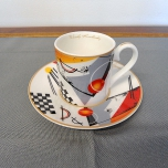 05 - Komplet 2 filiżanek do espresso W.Kandinsky