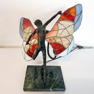 34 - Lampa witrażowa