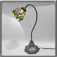 33 - Lampa witrażowa na biurko