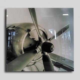 1113 - Szklana ozdoba na ścianę