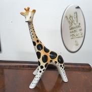 36 - Figurka - żyrafa lata 70-te