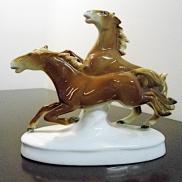 14 - Konie - figurka porcelanowa