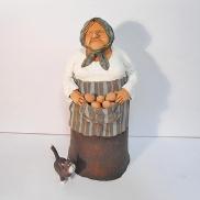 635 - Babcia i skarby z kurnika